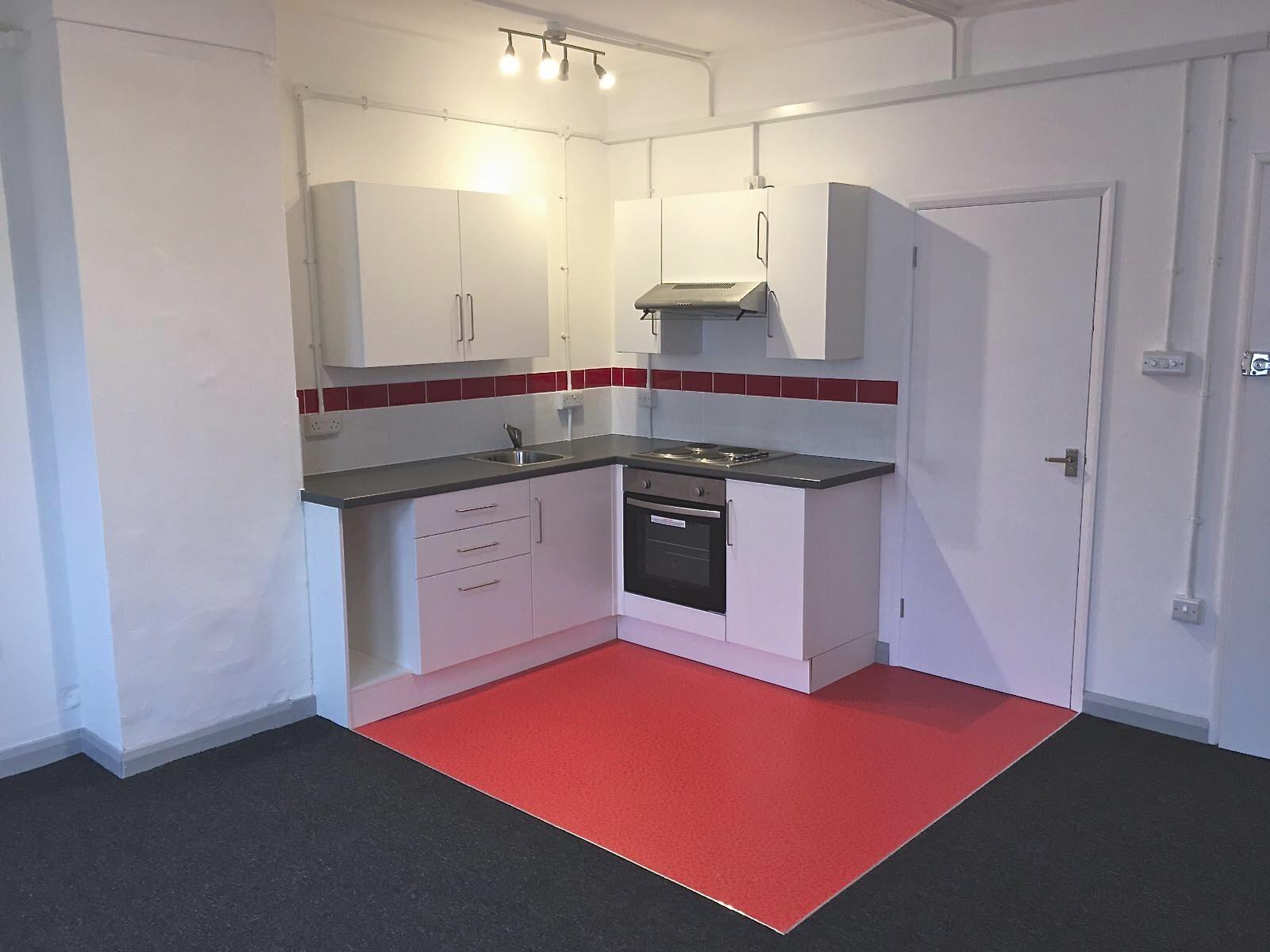 Kitchen Install in a Studio Flat